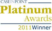 Case In Point Platinum Award